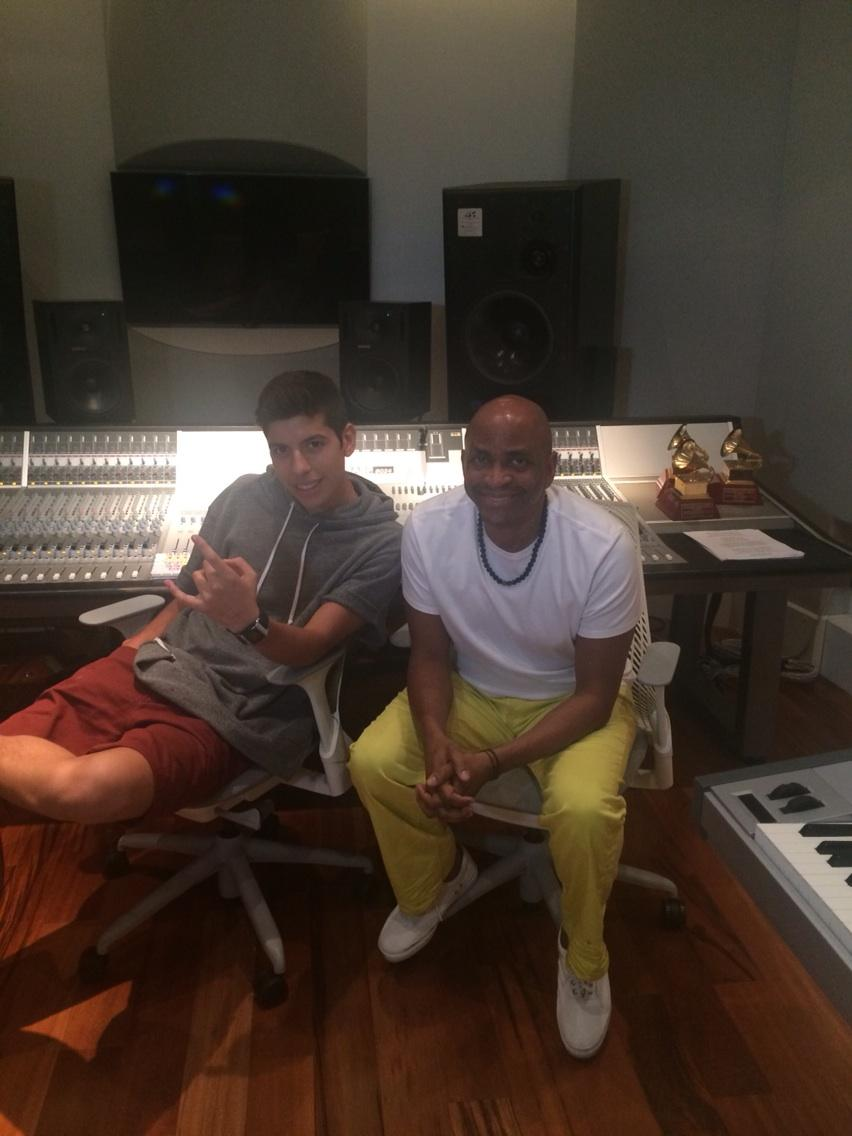 Working on tracks with @matthunter123 at TSM Studios, Delray Beach. http://t.co/sAJ1M1RXGO