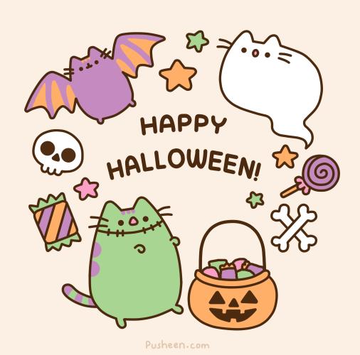 Pusheen Halloween pusheen the cat (@pusheen) twitter Pusheen Wallpaper ... Xbox One White Console Sunset Overdrive