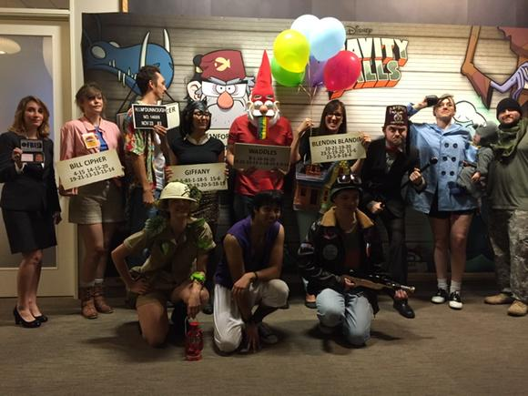 Happy Summerween from the crew of #GravityFalls !! http://t.co/rzSyODQRrZ