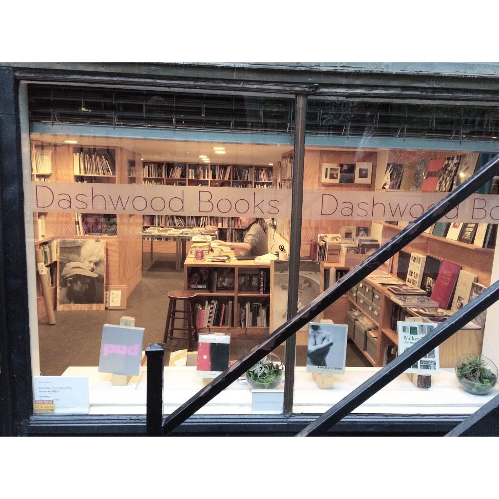 Dashwood Books - Great photography bookshop in NYC 33 Bond St http://t.co/2PCt8uCBhe