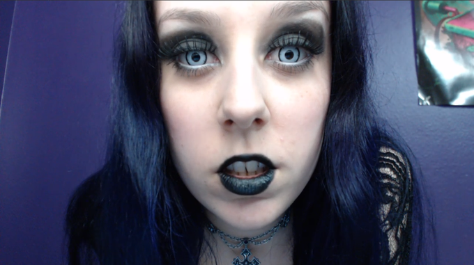 CHOKING THE LIFE OUT OF YOU OUT NOW ON @Customs4U  http://t.co/52o9GMmUij #executrix #femdom #goth #evil