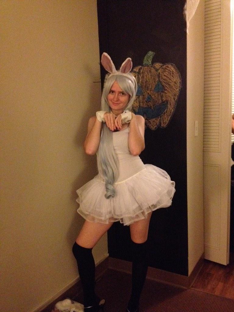 roosterteeth weiss bunny for halloween
