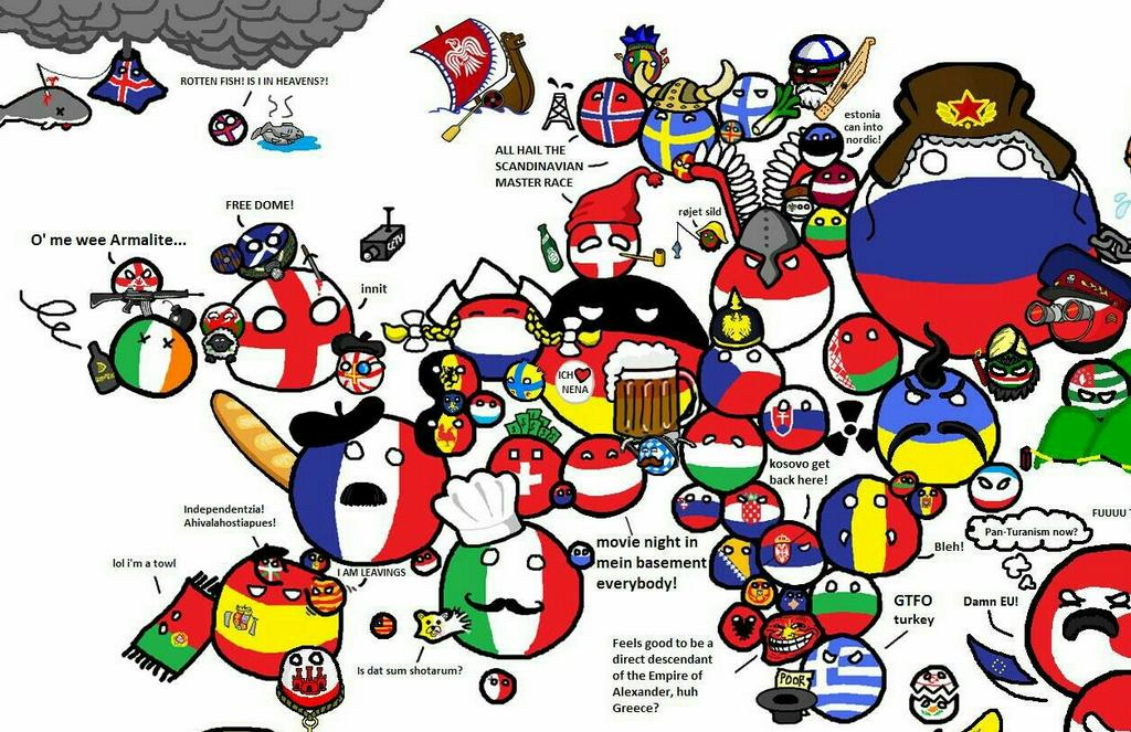 Polandball map of the world timekeeperwatches updated gumiabroncs Choice Image