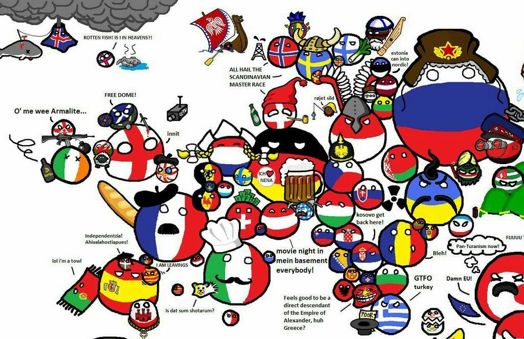 Polandball Map Of The World 2017.Amazing Maps On Twitter Polandball Map Of The World Http T Co