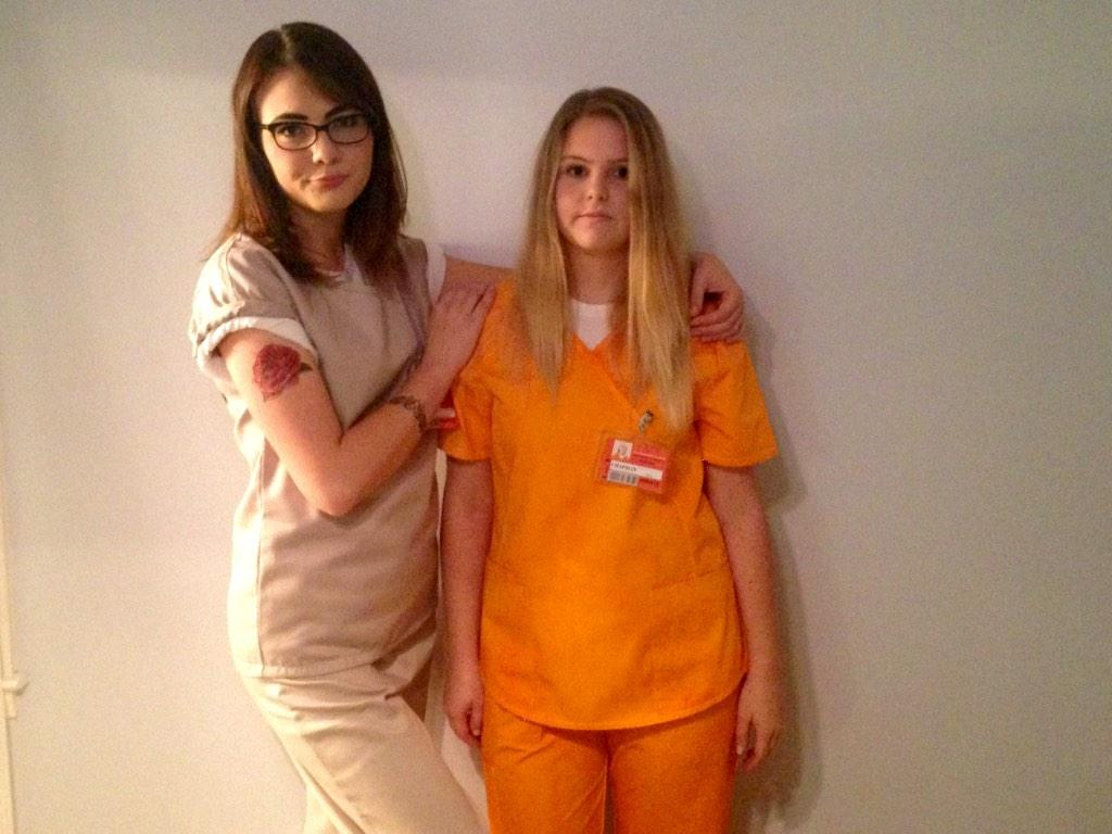 Piper Chapman And Alex Vause Halloween Halloween From Alex Vause
