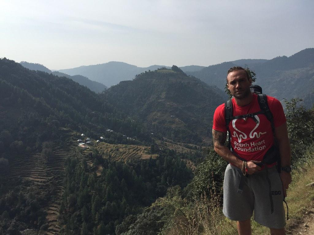 Thrilled we accepted this challenge and thrilled we completed it on behalf of @TheBHF ! 12 days trekking Himalayas http://t.co/gcXWjhs1bJ