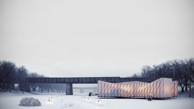 A pop-up restaurant designed for a frozen river - take a look: http://t.co/T5wC7REeSe #architecture http://t.co/Q1CWrcdhCh