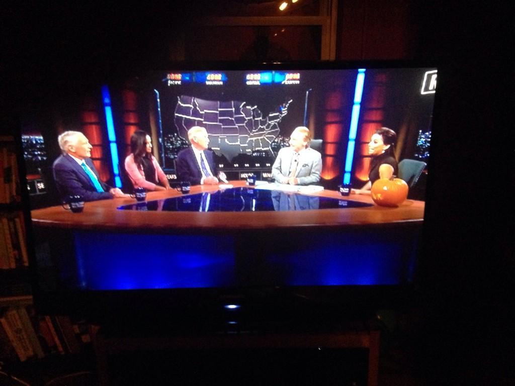 RT @FoodChainsFilm: .@EvaLongoria killed it on @RealTimers @billmaher @HBO   Thanks Eva and Bill!! http://t.co/U6e18QGGu3