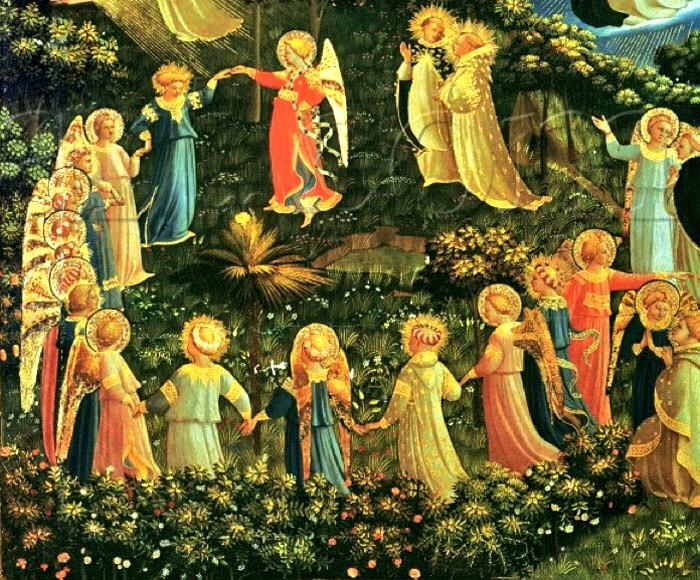 Image result for fra angelico heaven