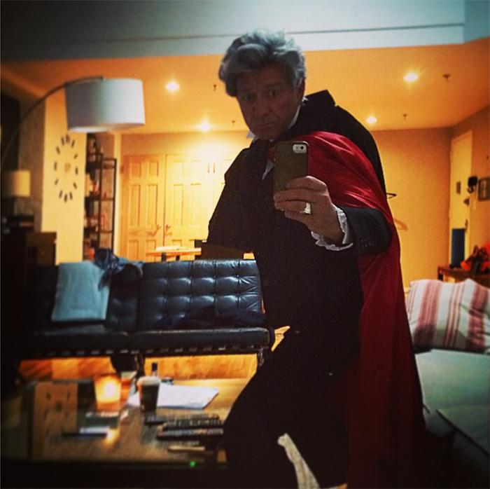 Psst..internet..look who @SeanPertwee went as for Halloween! #Amazing Follow his Pinterest: http://t.co/PCLQcTCYyd http://t.co/pqbxnXdy5c
