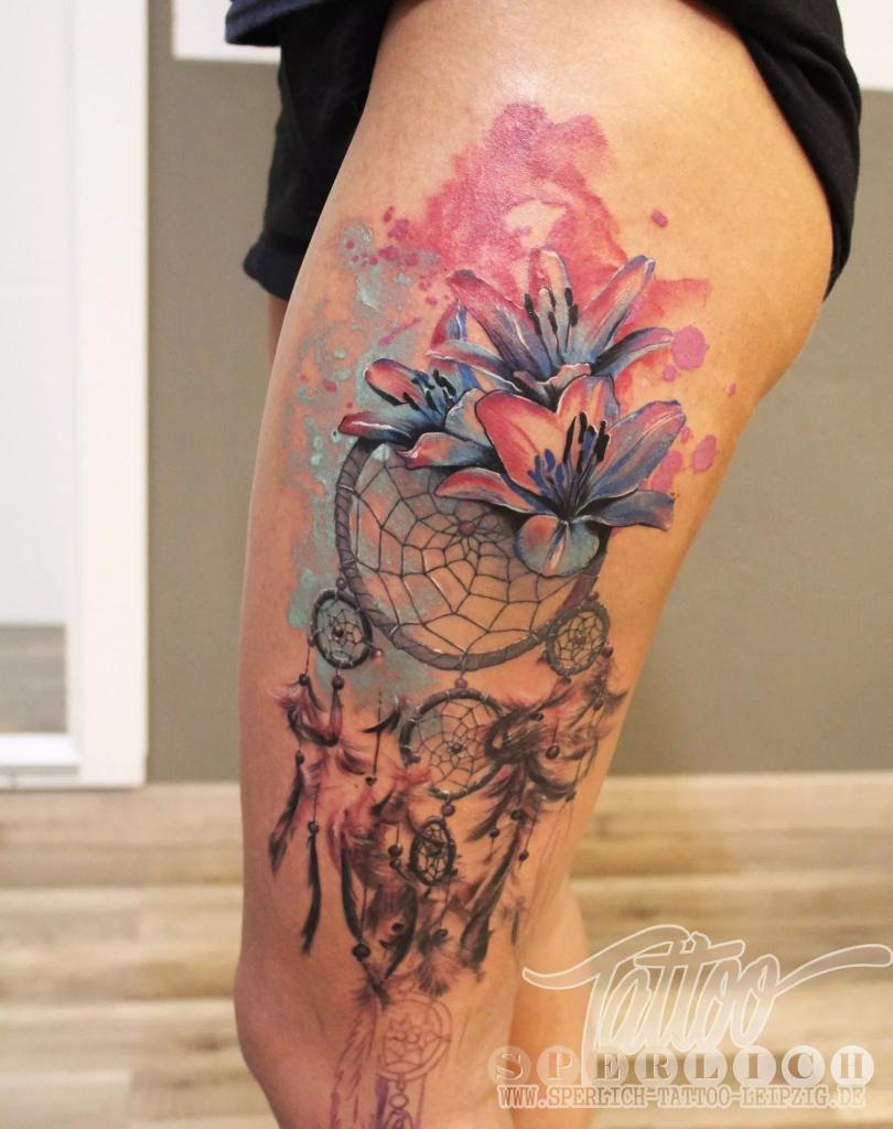 Sperlich Tattoo On Twitter Total Im Trend Mit Aquarell Tattoos