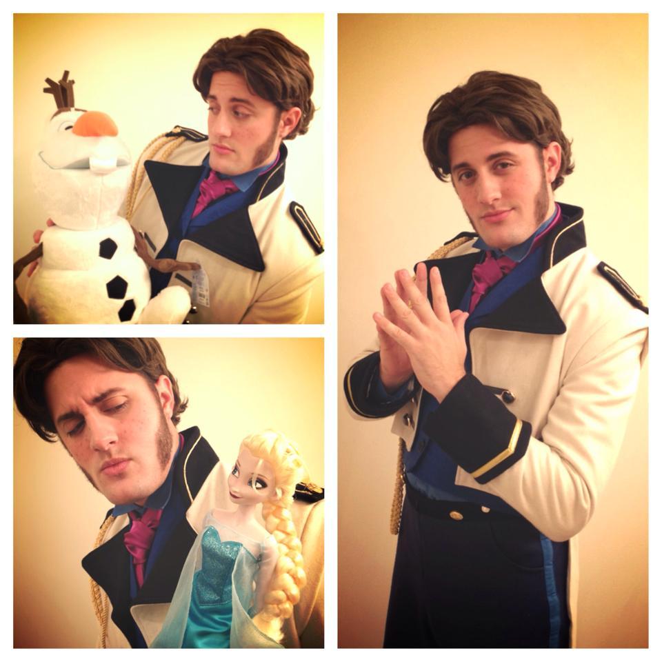 Happy Halloween! Tonight I moonlight as Evil Prince Hans from @DisneyAnimation Frozen! :) http://t.co/ZOX1xXHNsN
