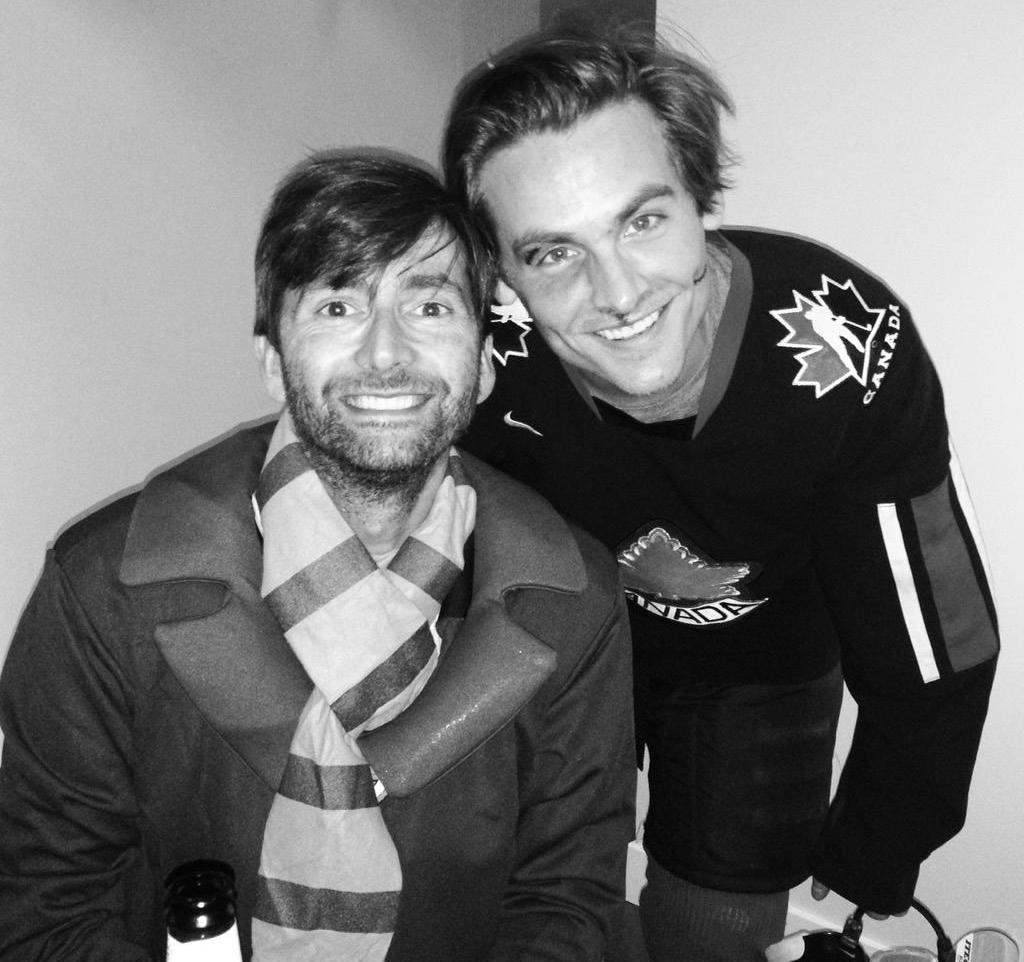 David Tennant and Kevin Zegers