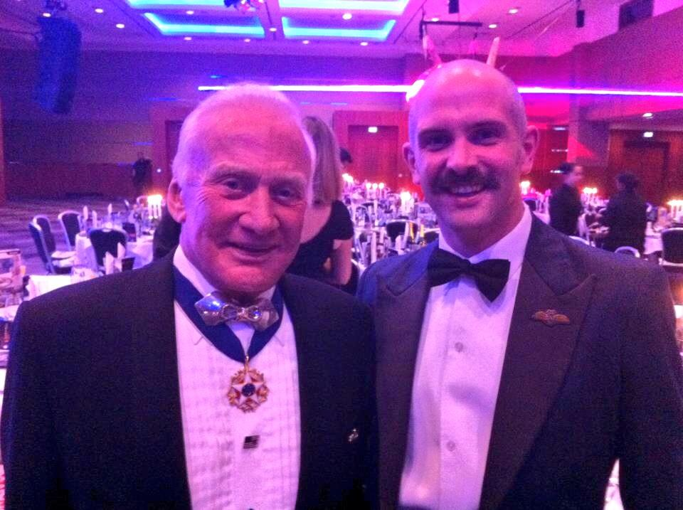 RT @RAFRed10: Meeting the legend Buzz Aldrin in Movember 2012, me with a ridiculous lip rug. 50 RTs and I'll grow again! #Movember http://t…