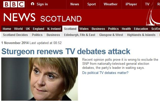 "Since when is asking to be included in a debate an ""attack""? #YESAlliance #indyref @BBCScotlandNews http://t.co/rCqEXM9jyh"