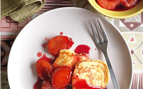 What's for breakfast today? We're dreaming of curd-cheese pancakes with plum compote http://t.co/X8UQ3ZdOht http://t.co/67mPcrpuO4