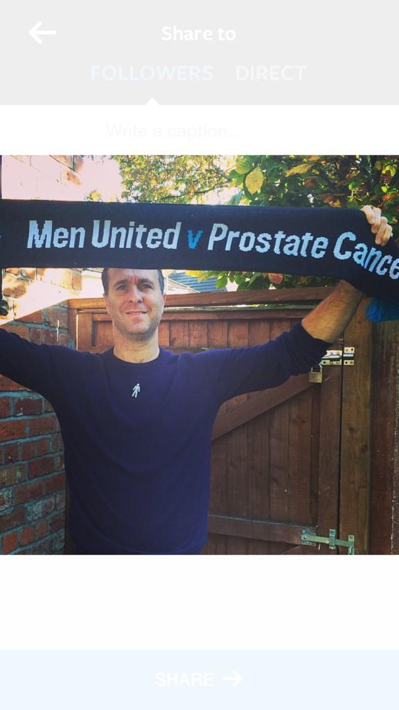 'Raising awareness' for @ProstateUK and #MenUnited Please Please RT http://t.co/hbDevhUR0d