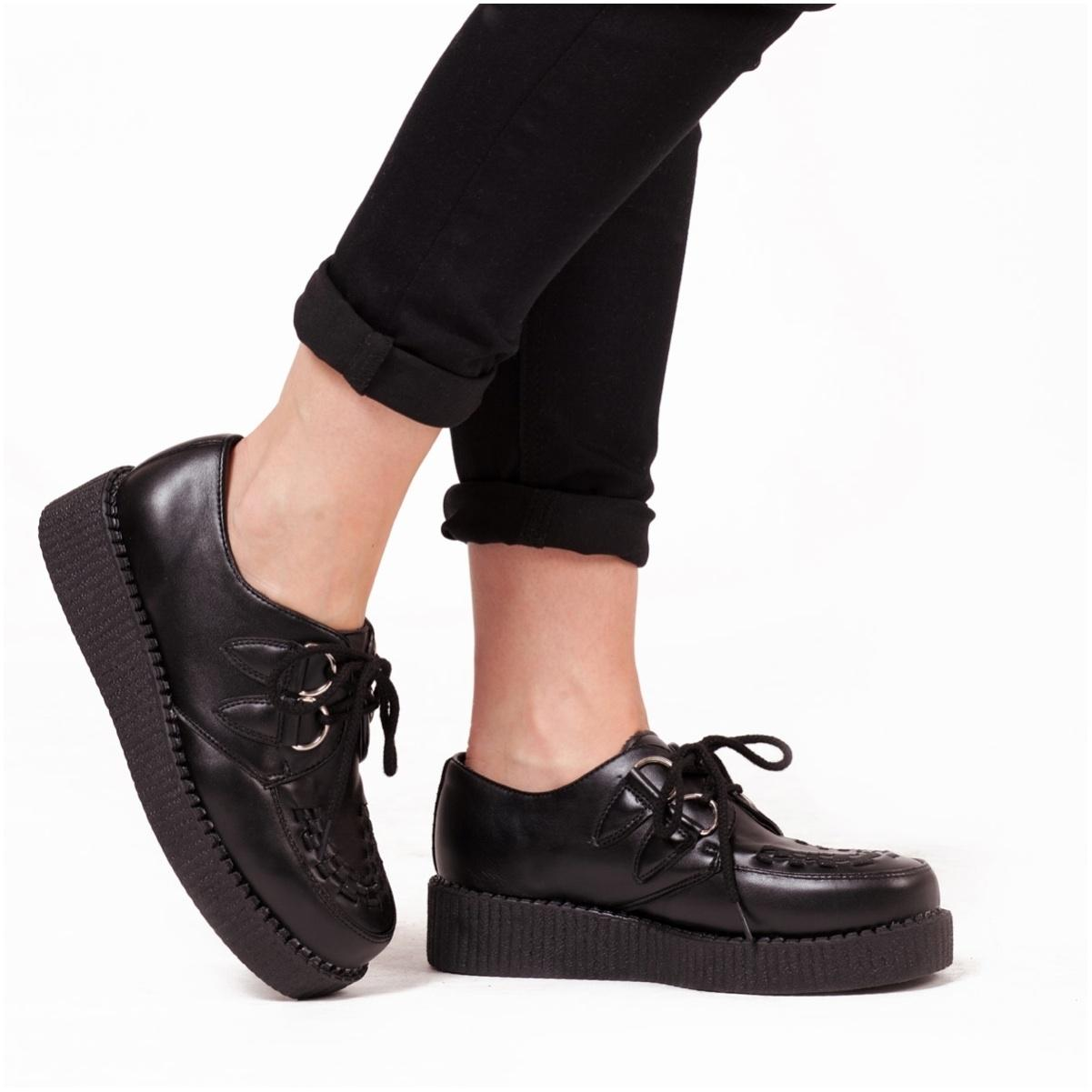 Black Faux Leather Creepers £26 💜 http://t.co/7MrACD4gkj #creepers http://t.co/2eUmma2Gso