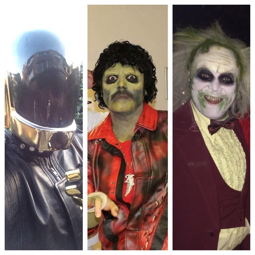 So to sum halloween. 3 costumes and a hangover http://t.co/p8ggb0FqwY
