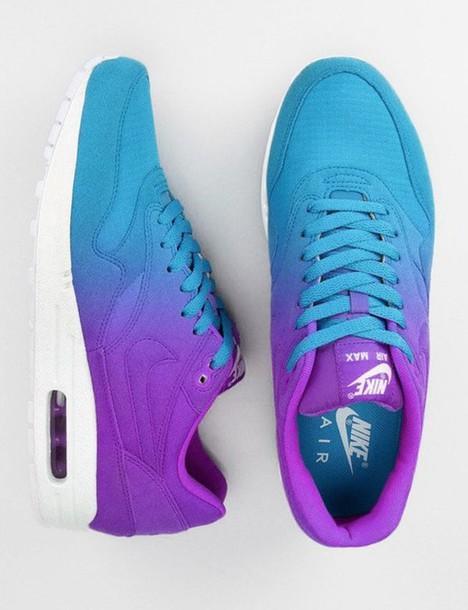 purple ombre nike air max