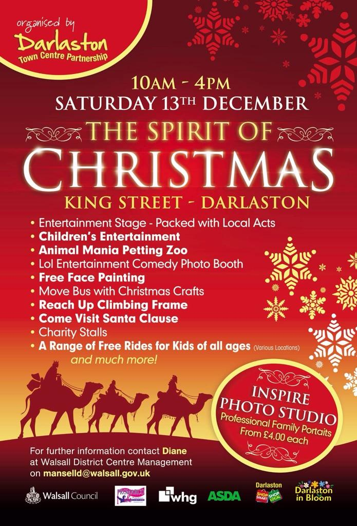 Darlaston Christmas poster