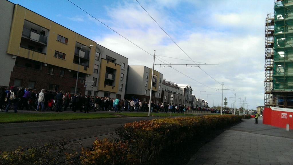 Ireland's Streets Turn to Rivers of People, 1 Million, Wiping Out New Tax on Water #IrishWater  B1WsypoIQAA4FTj