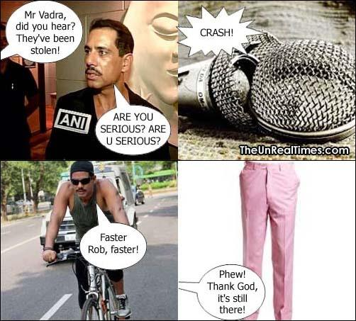 COMIC: The real reason why Robert Vadra scuffled with the reporter (via @ashwinskumar) #AreYouSerious http://t.co/wh0RIWxWVg
