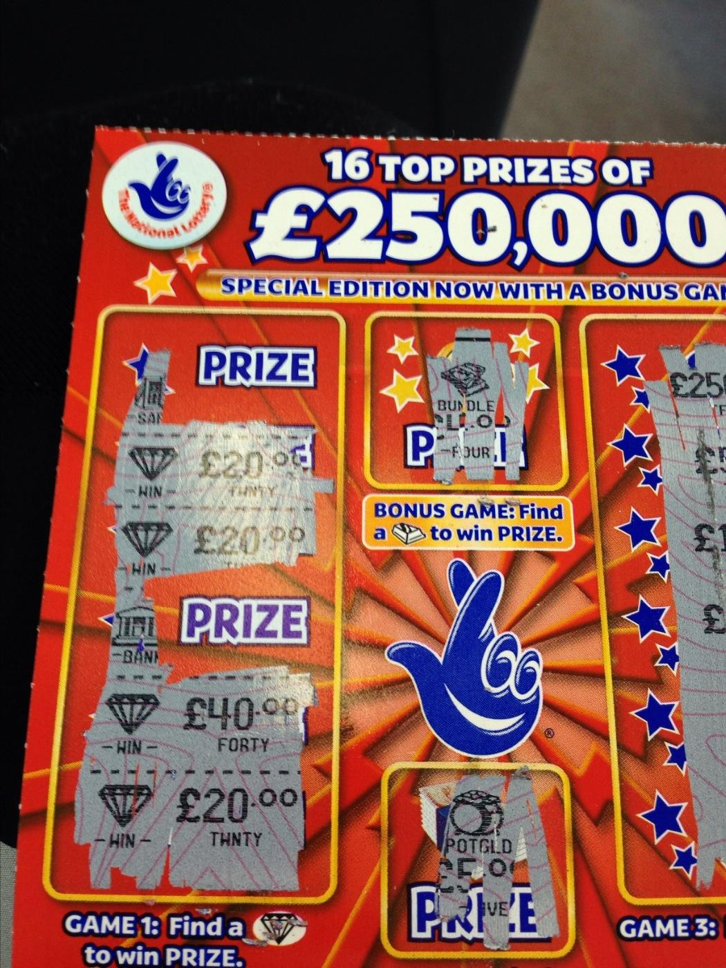 Scratch Cards With Best Odds Uk