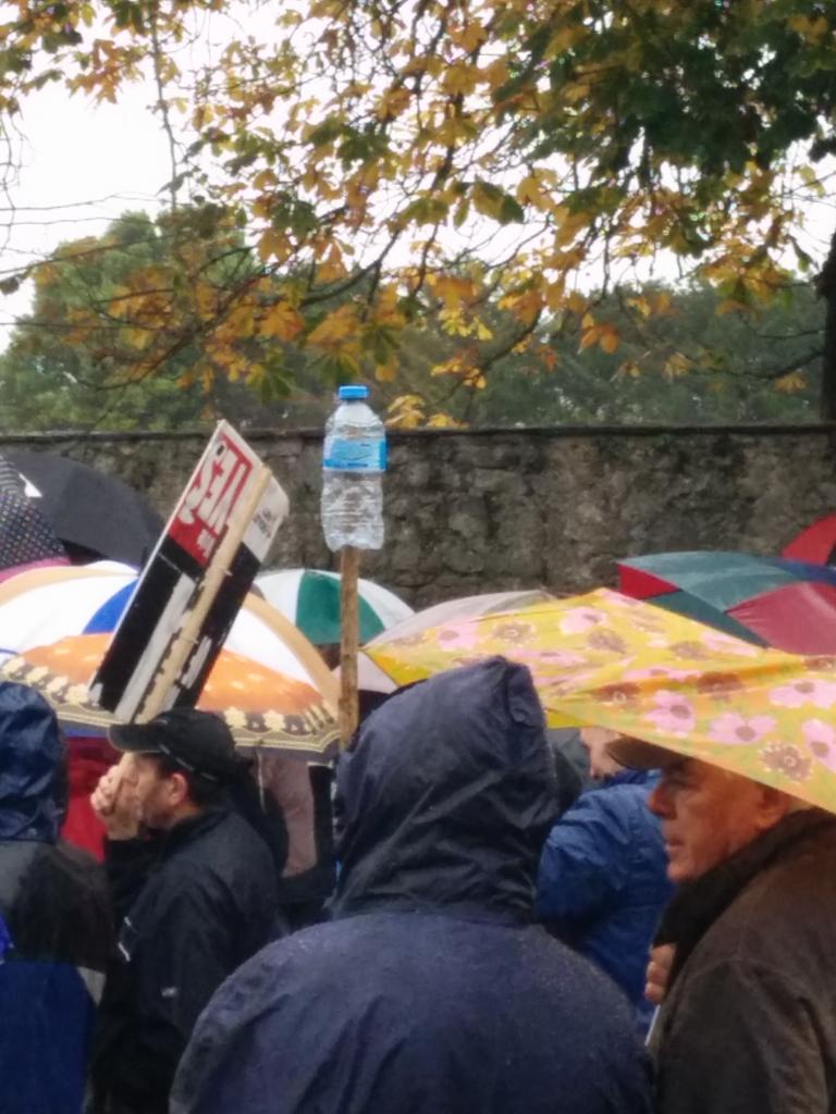 Ireland's Streets Turn to Rivers of People, 1 Million, Wiping Out New Tax on Water #IrishWater  B1XO8fSIEAE1duL