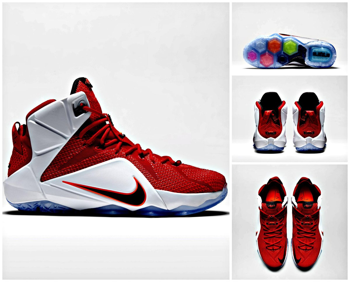 Lebron XII 'Lion Heart' shoes now