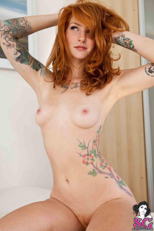 perky Beautiful brunette tits natural