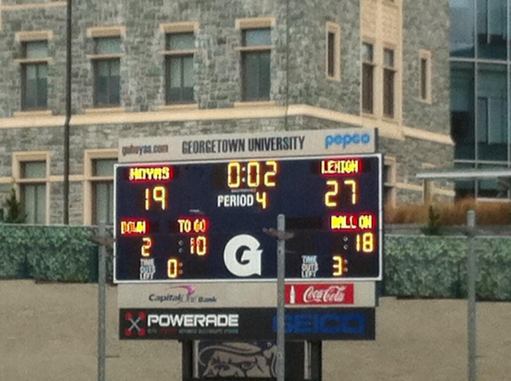 Lehigh's Future Is Now As Team Comes Together To Beat Georgetown 27-19