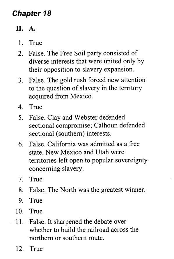 APUSH ANSWERS (@communism69) | Twitter