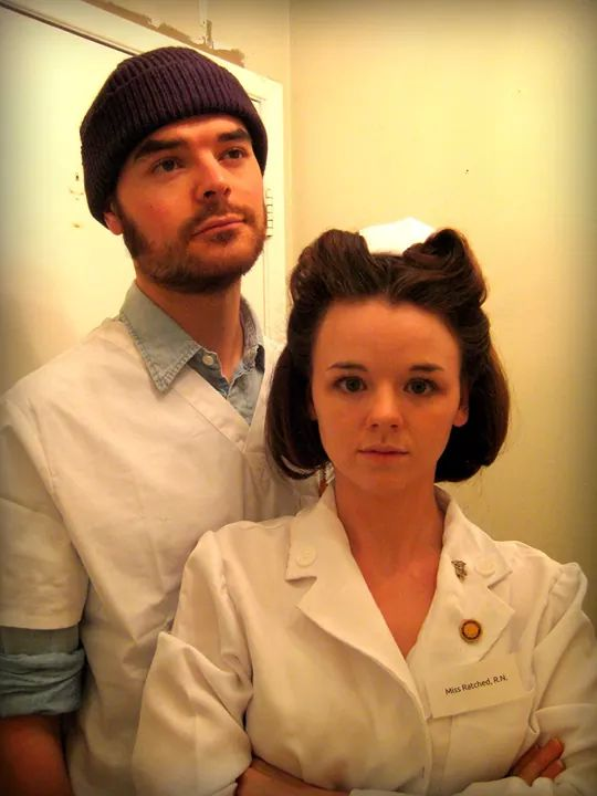 Randle Patrick McMurphy and Mildred Ratched from Ken Kesey's One Flew Over the Cuckoo's Nest