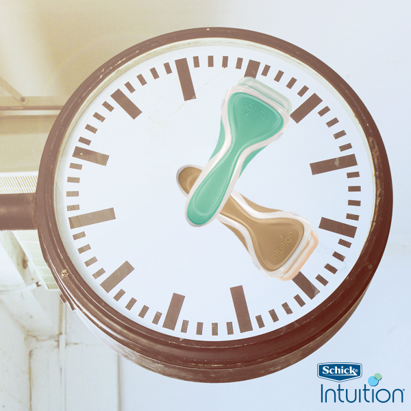 Save on shave time with Schick Intuition. And don't forget to set your clocks back an hour tonight! #daylightsavings http://t.co/8Ro01OKl3e