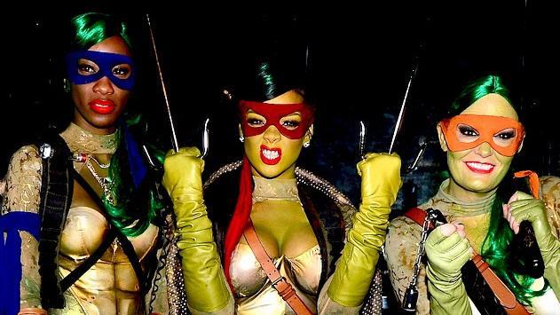 That Rihanna halloween costume sexy think