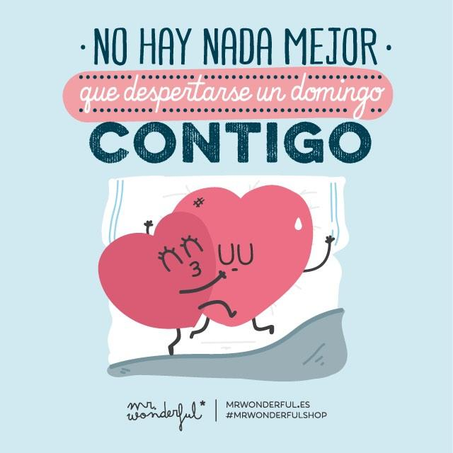 Mr Wonderful On Twitter Los Domingos No Serian Lo Mismo Si No Me