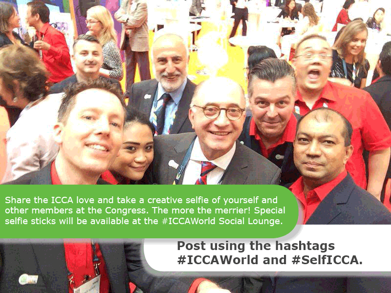 Thumbnail for Faces of the #ICCAWorld Family through #Selficca