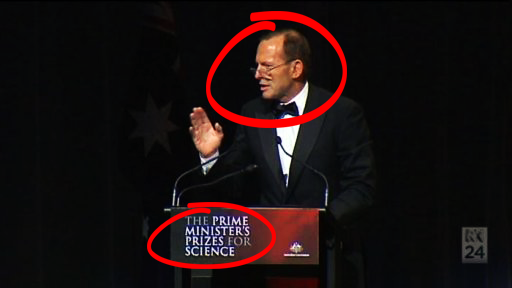 Kiera On Twitter The Definition Of IRONY Tony Abbott Handing Out Prime Ministers Prizes For Science