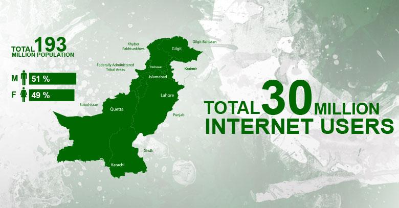 US Consulate Karachi on Twitter Pakistans 30 M Internet users