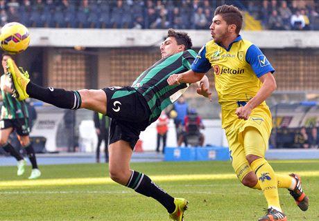 Serie A: Oggi Sassuolo Verona, probabili formazioni