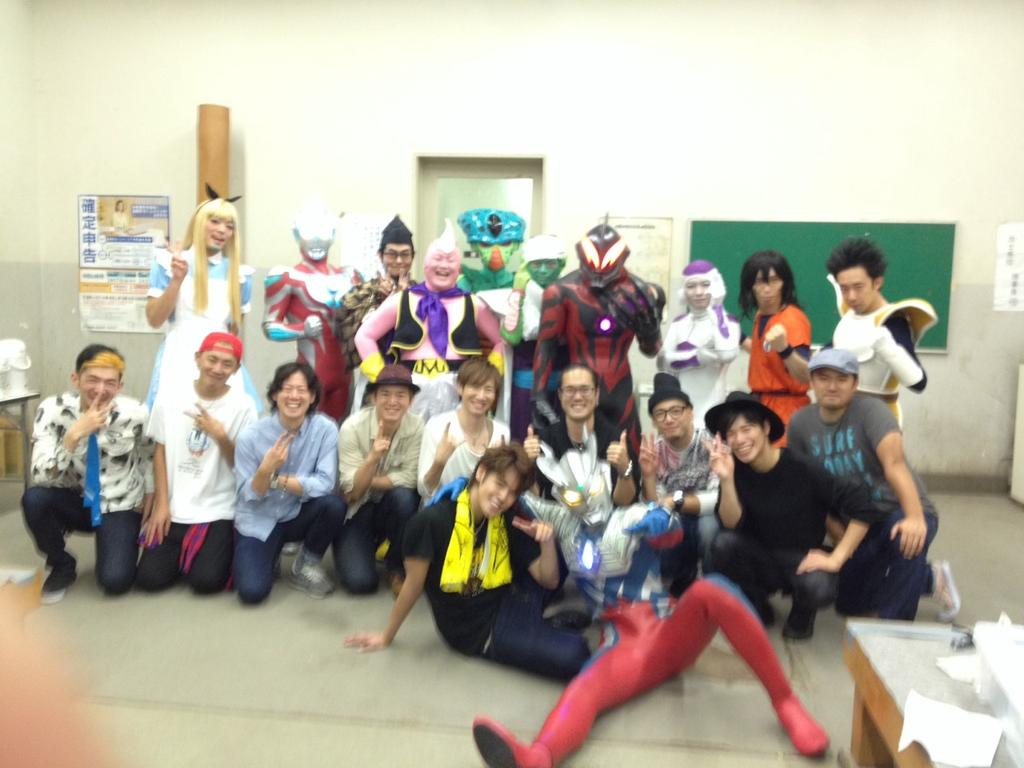宮野真守ファンクラブイベント 「Laugh&Peace」にサプライズ出演してきたぞ! 両国国技館というから、相撲をするのかと思ったのにゲームをやらせやがって…まぁまぁ楽しいじゃないか http://t.co/1iU2cpn9JA
