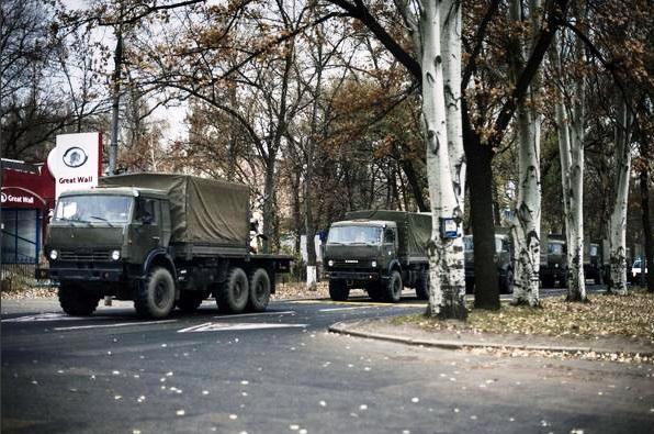 """Часть седьмого """"гумконвоя"""" Путина отправилась на границу с Украиной - Цензор.НЕТ 9040"""