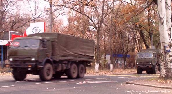 """Часть седьмого """"гумконвоя"""" Путина отправилась на границу с Украиной - Цензор.НЕТ 299"""