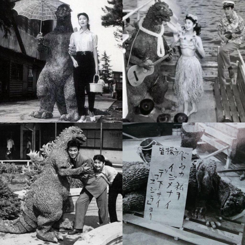 60年前の今日、1954年 11月3日  怪獣ゴジラが誕生しました  日本だけでなく、世界を代表するゴジラ  これまで幾多の誕生と休眠、そして復活を遂げてきた不滅の怪獣王は、これからも世界で活躍するでしょう  おめでとうゴジラ!!!