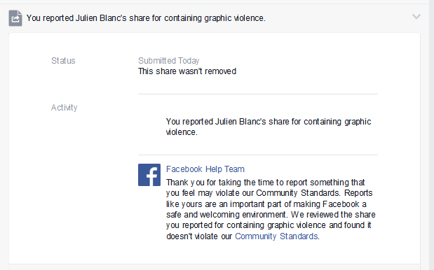 "Thumbnail for Facebook doesn't think videos teaching rape ""violates [...] community standards"""