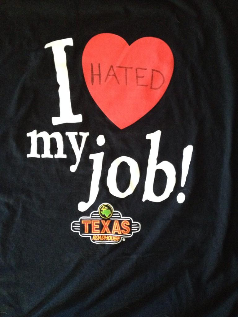 I quit my job today so modified my work shirt http://t.co/0r9yrReCkt