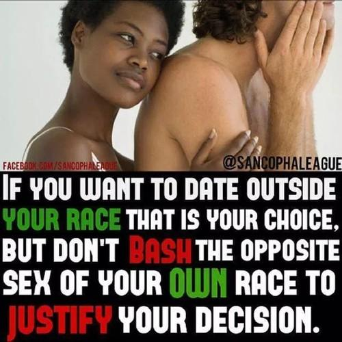 Dating someone out of your race