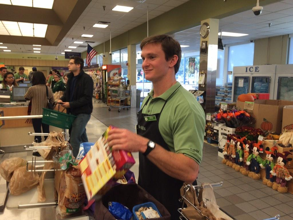 Whole Foods Bagger