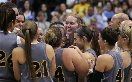 Lauren Hill, freshman with inoperable brain tumor, fulfills basketball dream http://t.co/XPOtIPH7GY http://t.co/faiIiVvnx3
